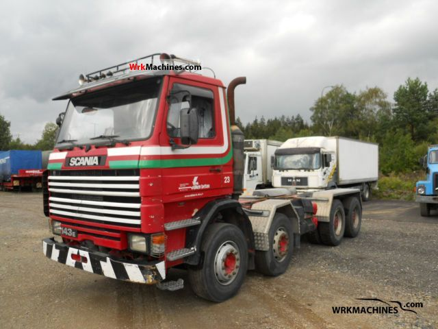 1995 SCANIA 3 - series 143 M/450 Truck over 7.5t Chassis photo