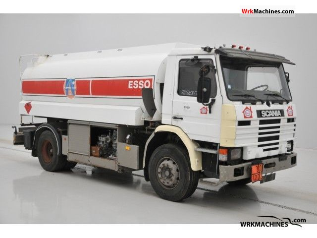 1995 SCANIA P,G,R,T - series 300 Truck over 7.5t Tank truck photo