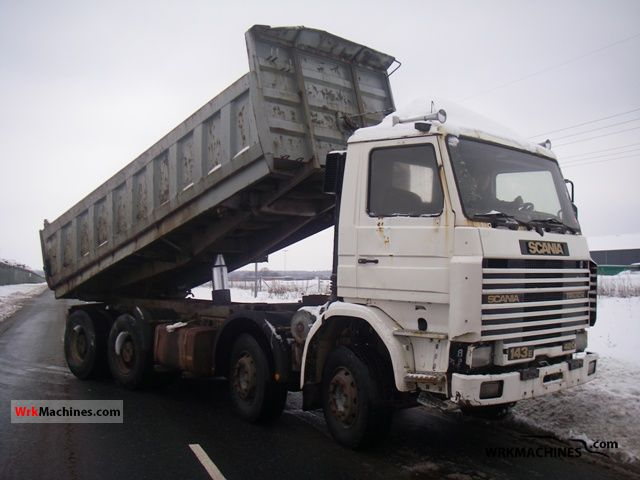 1994 SCANIA P,G,R,T - series 420 Truck over 7.5t Mining truck photo