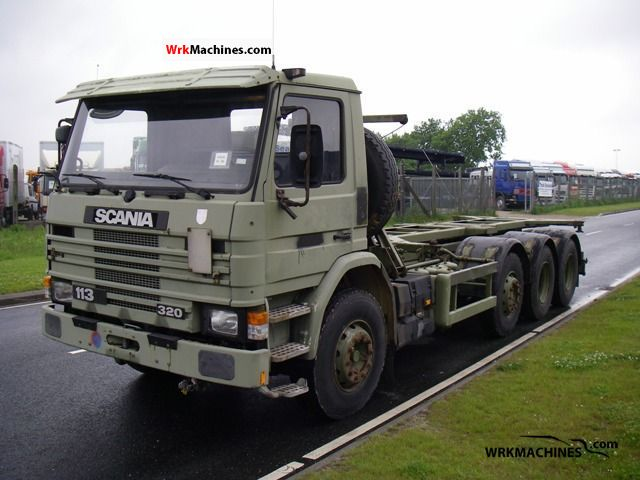 1993 SCANIA 3 - series bus 113 Truck over 7.5t Swap chassis photo
