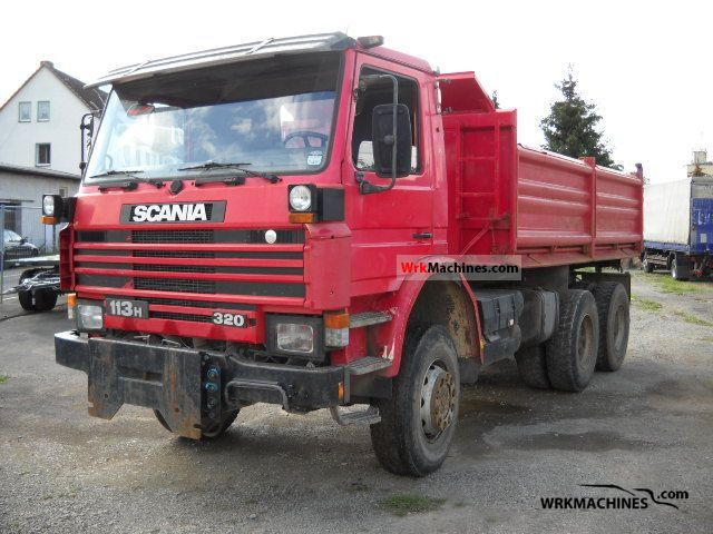 1992 SCANIA 3 - series bus 113 Truck over 7.5t Tipper photo