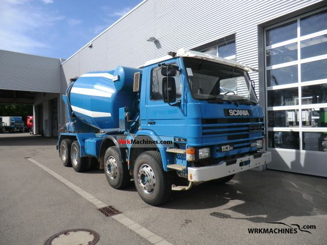 1996 SCANIA 3 - series 113 H/320 Truck over 7.5t Cement mixer photo
