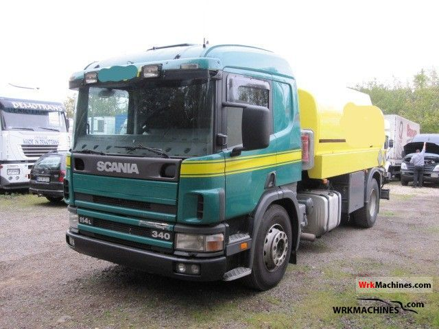 2000 SCANIA 4 - series 114 L/340 Truck over 7.5t Tank truck photo