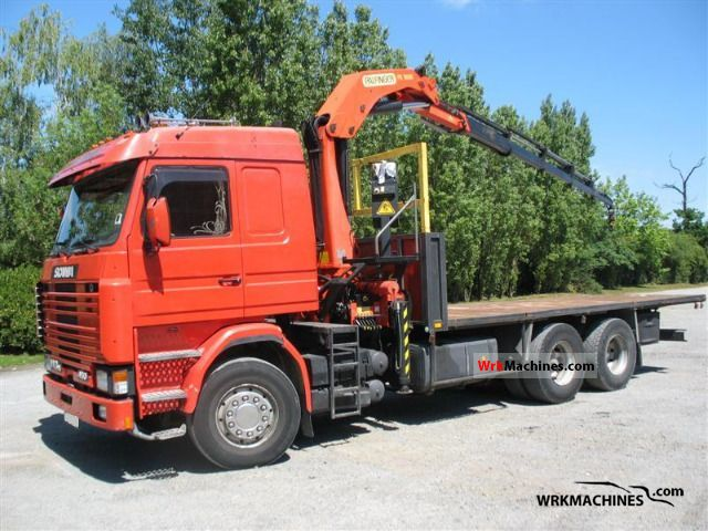 1990 SCANIA 3 - series 143 H/450 Truck over 7.5t Other trucks over 7,5t photo