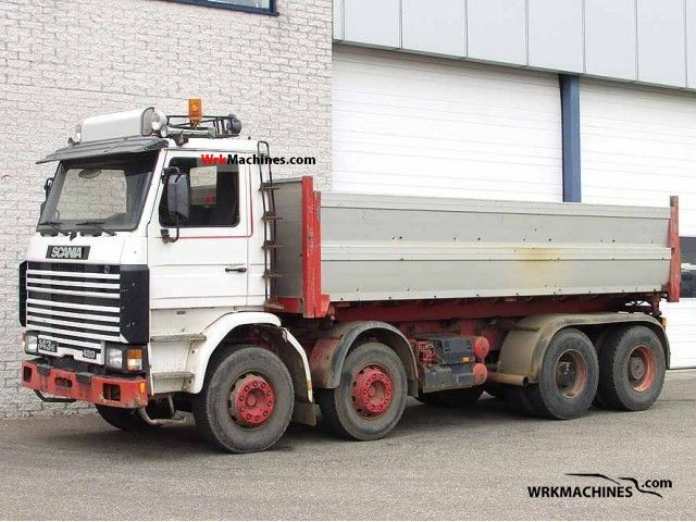 1995 SCANIA 3 - series 143 E/420 Truck over 7.5t Tipper photo
