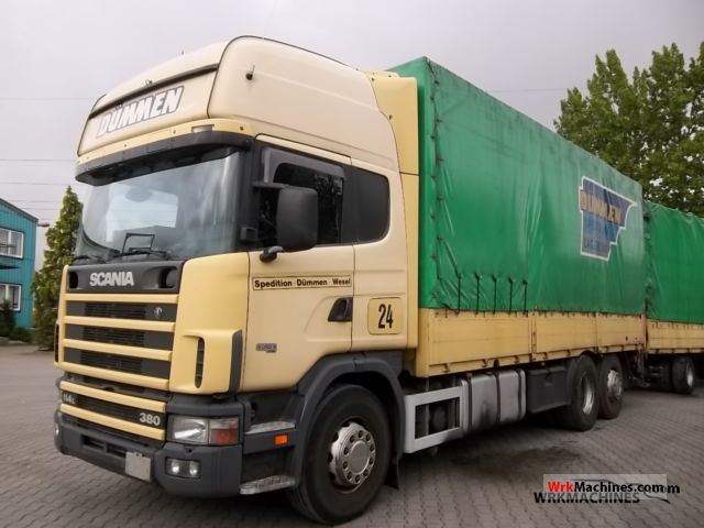 2001 SCANIA 4 - series 114 L/380 Truck over 7.5t Truck-mounted crane photo