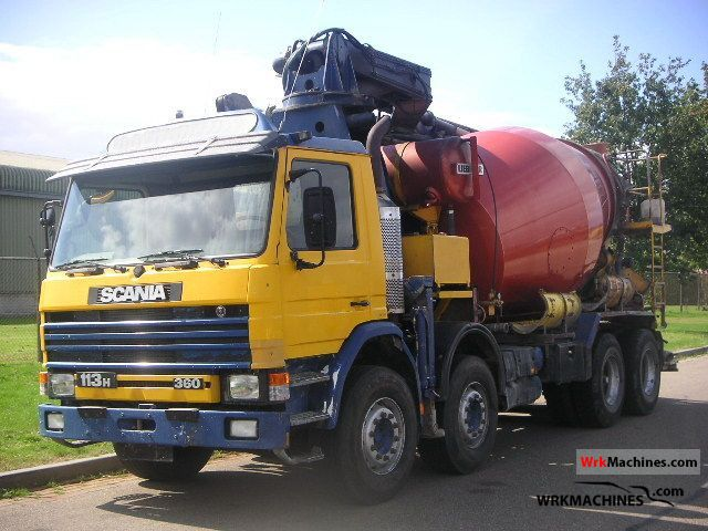 1993 SCANIA 3 - series 113 H/360 Truck over 7.5t Concrete Pump photo