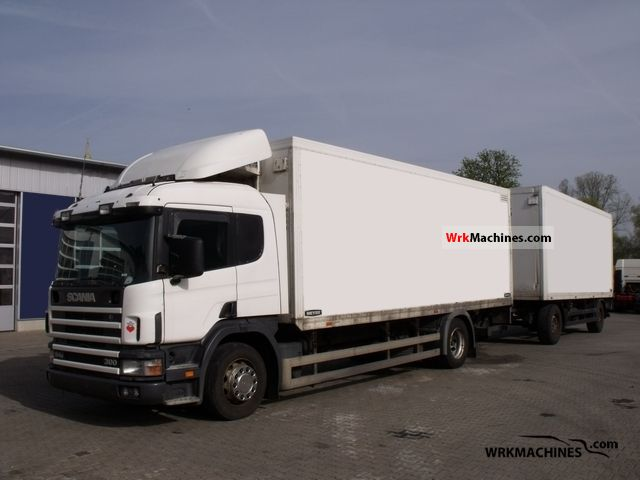 2003 SCANIA 4 - series 94 D/300 Truck over 7.5t Refrigerator body photo