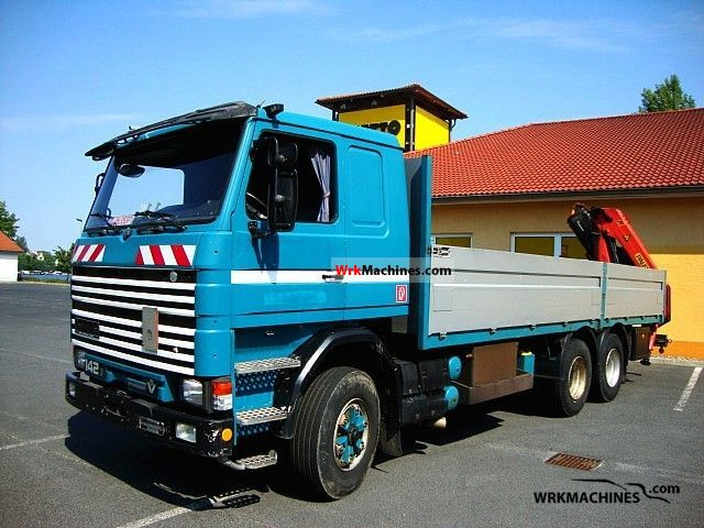 1988 SCANIA 2 - series 142 Truck over 7.5t Stake body photo