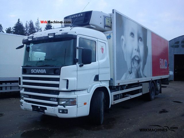 2003 SCANIA P,G,R,T - series 420 Truck over 7.5t Refrigerator body photo
