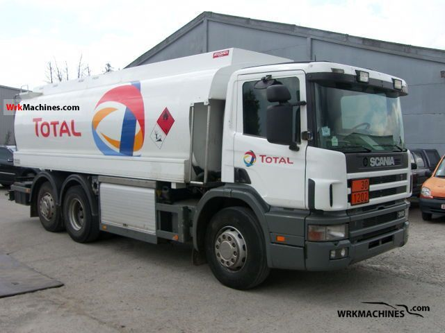 1997 SCANIA 4 - series 94 D/310 Truck over 7.5t Tank truck photo