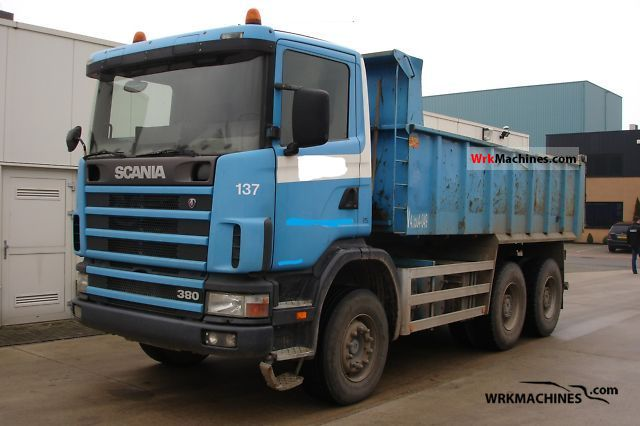 1999 SCANIA P,G,R,T - series 380 Truck over 7.5t Tipper photo