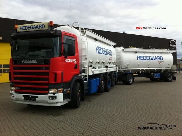 2004 SCANIA P,G,R,T - series 420 Truck over 7.5t Tank truck photo
