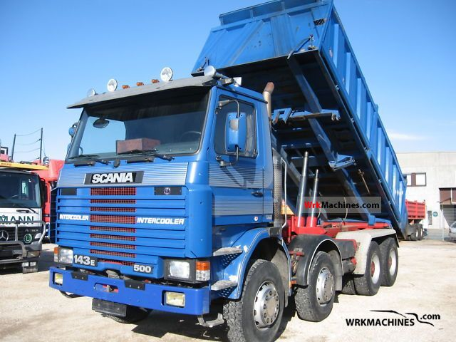 1995 SCANIA 3 - series 143 E/500 Truck over 7.5t Tipper photo