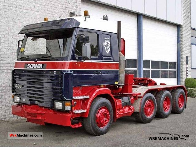 1992 SCANIA 3 - series 143 H/500 Semi-trailer truck Other semi-trailer trucks photo