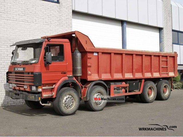 1995 SCANIA 3 - series 113 H/380 Truck over 7.5t Tipper photo