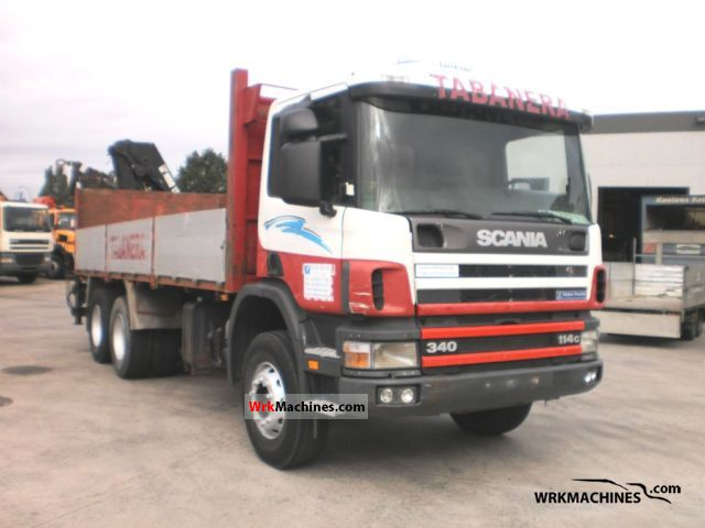 2000 SCANIA P,G,R,T - series 340 Truck over 7.5t Truck-mounted crane photo