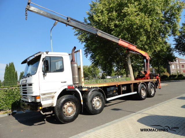 1994 SCANIA 3 - series bus 113 Truck over 7.5t Truck-mounted crane photo