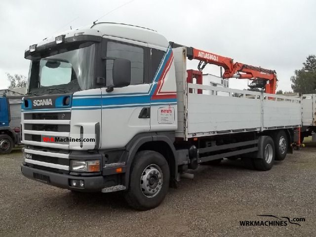 2001 SCANIA 4 - series 164 G/480 Truck over 7.5t Truck-mounted crane photo