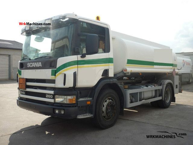 2001 SCANIA 4 - series 94 /D260 Truck over 7.5t Tank truck photo
