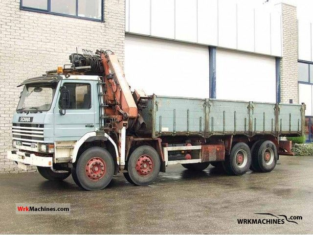 1994 SCANIA 3 - series 113 H/360 Truck over 7.5t Tipper photo