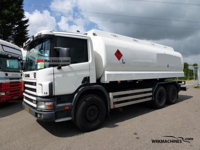 1999 SCANIA P,G,R,T - series 340 Truck over 7.5t Tank truck photo