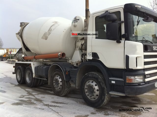2004 SCANIA 4 - series 114 C/380 Truck over 7.5t Cement mixer photo