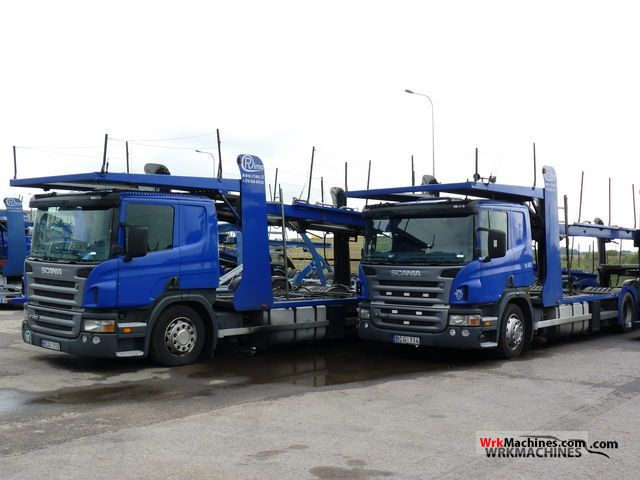 2005 SCANIA P,G,R,T - series P 380 Truck over 7.5t Car carrier photo