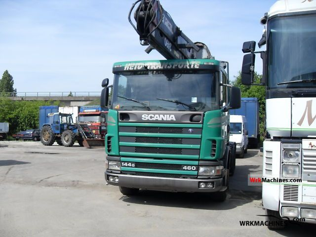 2000 SCANIA 4 - series 144 G/460 Truck over 7.5t Car carrier photo