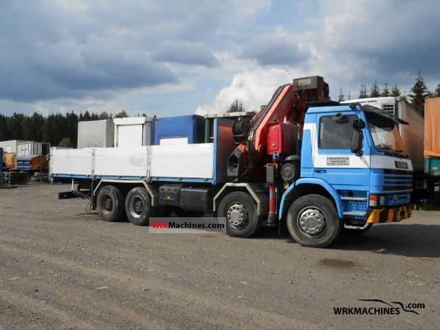 1995 SCANIA 3 - series 113 H/360 Truck over 7.5t Stake body photo