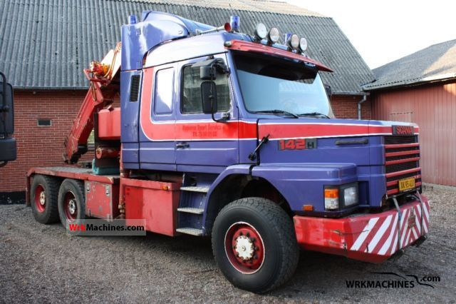1987 SCANIA 2 - series 142 Truck over 7.5t Breakdown truck photo