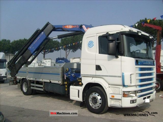 2000 SCANIA P,G,R,T - series 310 Truck over 7.5t Truck-mounted crane photo
