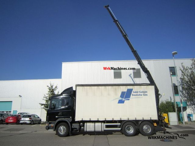 2003 SCANIA P,G,R,T - series 380 Truck over 7.5t Truck-mounted crane photo