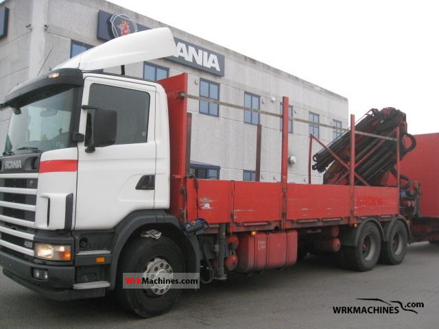 2004 SCANIA P,G,R,T - series 420 Truck over 7.5t Truck-mounted crane photo