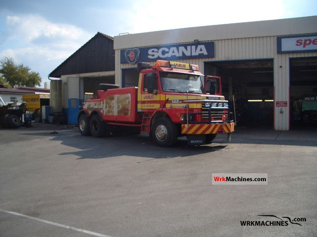 1983 SCANIA 2 - series 142 Truck over 7.5t Breakdown truck photo