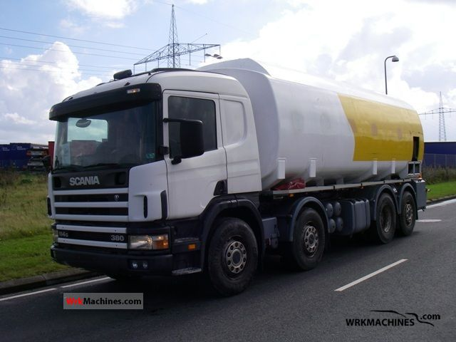 2002 SCANIA P,G,R,T - series 380 Truck over 7.5t Tank truck photo