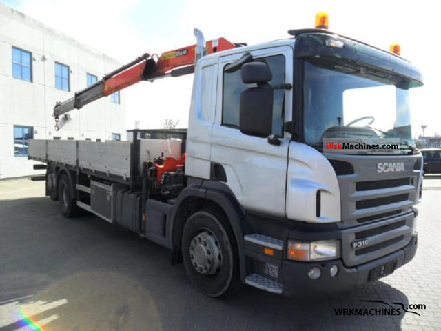 2006 SCANIA P,G,R,T - series P 310 Truck over 7.5t Truck-mounted crane photo