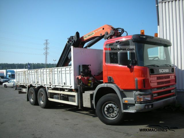 2002 SCANIA 4 - series 94 C/260 Truck over 7.5t Truck-mounted crane photo