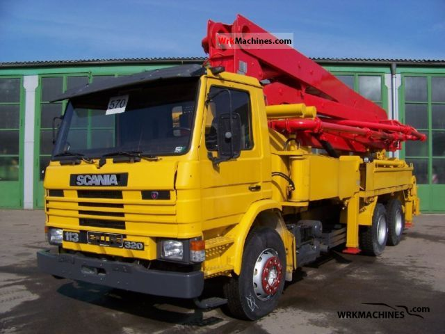1996 SCANIA 3 - series bus 113 Truck over 7.5t Concrete Pump photo