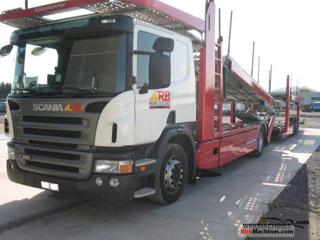 2006 SCANIA P,G,R,T - series P 380 Truck over 7.5t Car carrier photo