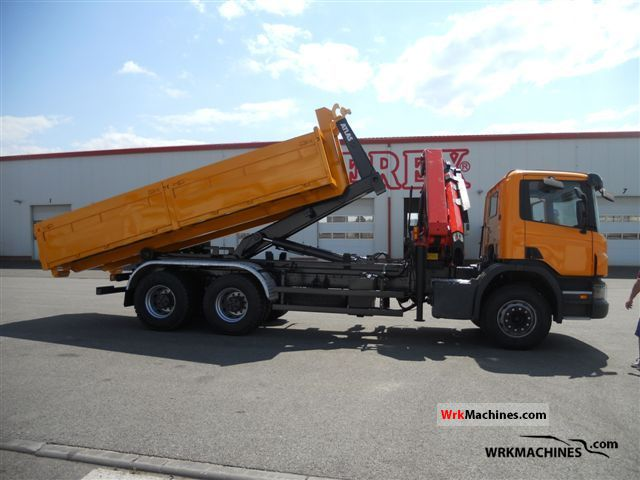 2008 SCANIA P,G,R,T - series P 340 Truck over 7.5t Truck-mounted crane photo
