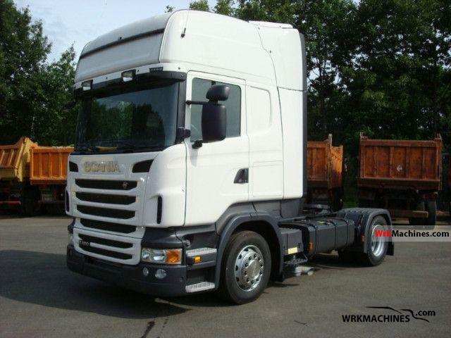 2011 SCANIA P,G,R,T - series R 480 Semi-trailer truck Standard tractor/trailer unit photo