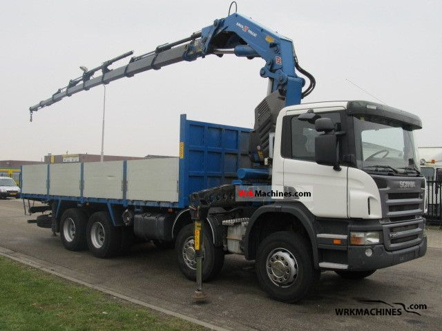2007 SCANIA P,G,R,T - series P 380 Truck over 7.5t Truck-mounted crane photo