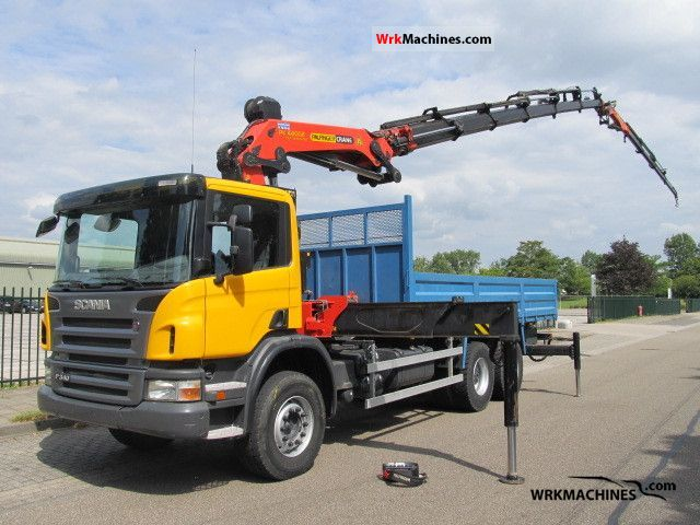 2007 SCANIA P,G,R,T - series P 340 Truck over 7.5t Truck-mounted crane photo