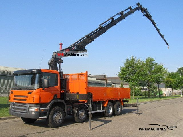 2006 SCANIA P,G,R,T - series P 420 Truck over 7.5t Truck-mounted crane photo