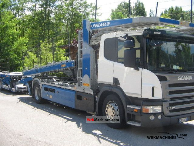 2009 SCANIA P,G,R,T - series P 420 Truck over 7.5t Car carrier photo