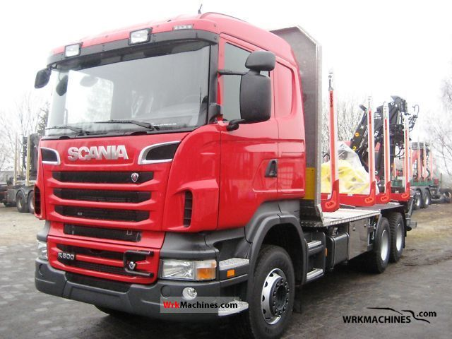 2011 SCANIA P,G,R,T - series R 500 Truck over 7.5t Timber carrier photo