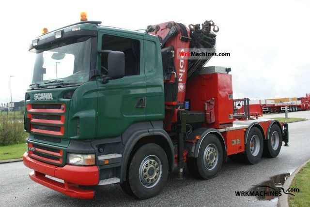 2006 SCANIA P,G,R,T - series R 470 Truck over 7.5t Truck-mounted crane photo