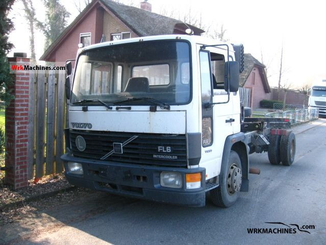 volvo fl 6 fl 612 1993 chassis photos and info