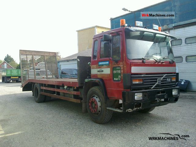 1986 VOLVO F 6 616 Truck over 7.5t Car carrier photo